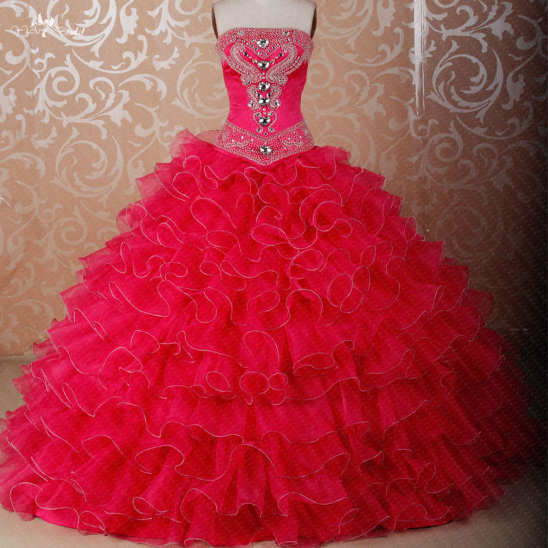 fdff0e1702 RS279 Custom Made DIY Seperate Fluffy Organza Skirt Used For Ball Gown Dress  Detachable Skirts Quinceanera Dresses-in Quinceanera Dresses from Weddings  ...