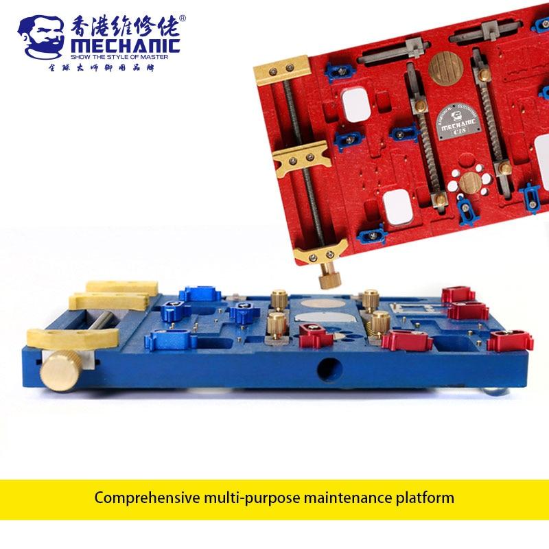 Mecânico C18 Plataforma de Retrabalho Solda Suporte de Aquecimento Elétrico Multifuncional de Alta Temperatura Para o iphone X