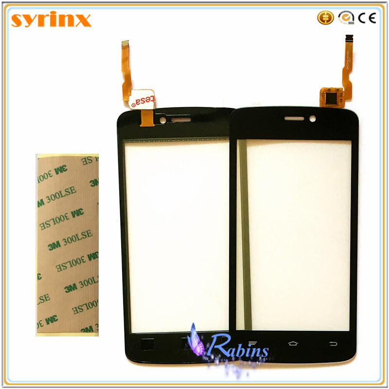 SYRINX 4,0 zoll Freies 3 mt band Für Qumo Quest 401 402 Touch Screen Panel Digitizer Sensor Touch Frontglas Touchscreen