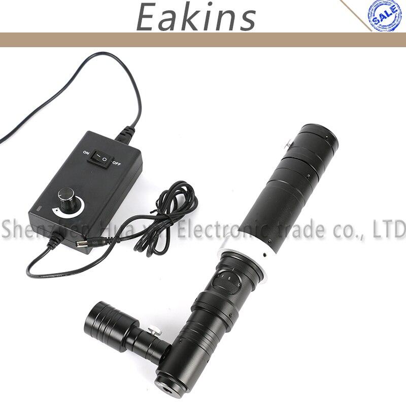 HD 1000X стерео микроскоп Камера коаксиальный свет Монокуляр C-Mount зум-объектив 40 мм кольцо Зун C- крепление объектива Стекло объектива