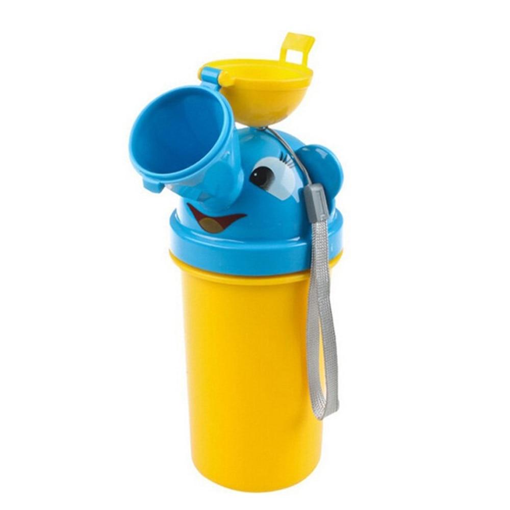 Urinal Potty Bottle Pee Bottle Portable Toilet Convenient Use Plastic Yellow