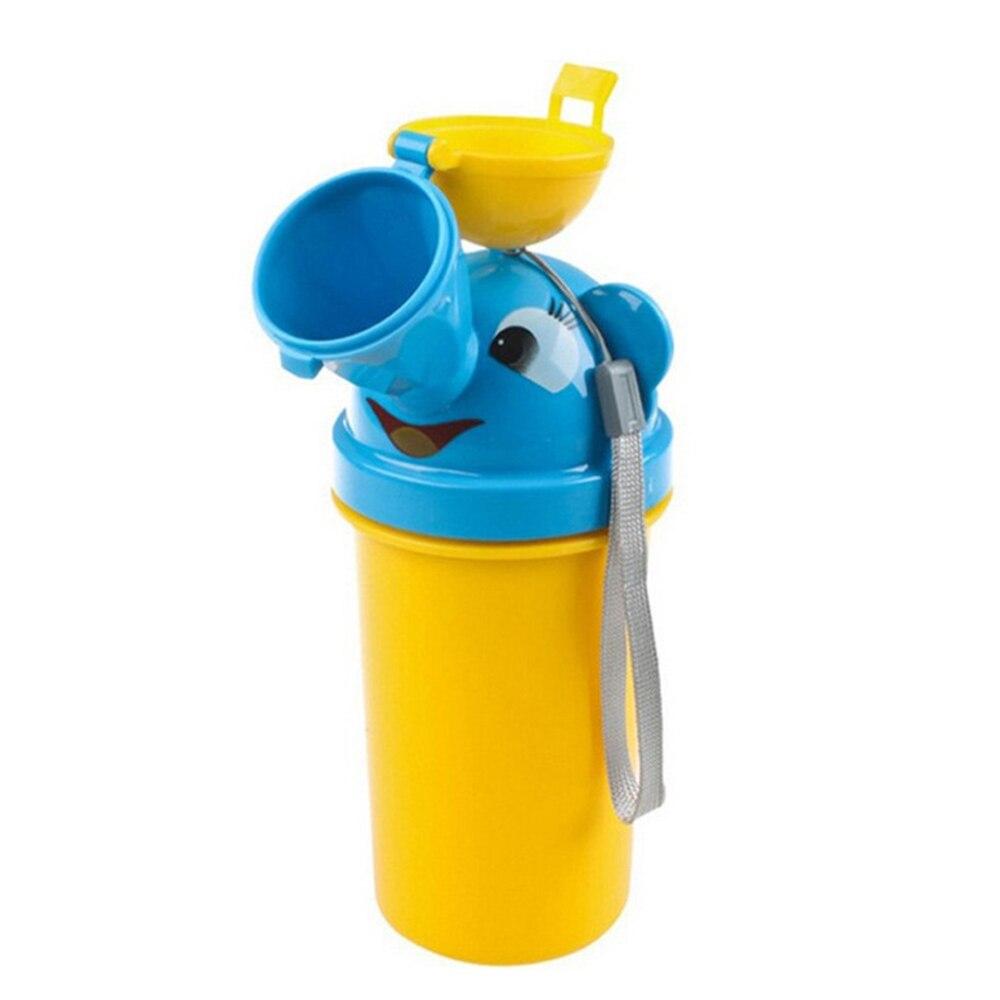 2 Pcs Tragbare Bequeme Reise Nette Baby Urinal Kinder Töpfchen Mädchen Jungen Auto Wc Vehicular Urinal Reisen Wasserlassen