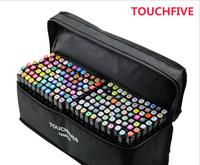 Touchfive 168 Colors Student Marker Set Dual Head Oily Alcoholic Sketch Marker Pen For Draw Animation
