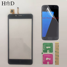5 Mobile Touchscreen Touch Screen Panel Lens Sensor For Leagoo Kiicaa Power Touch Screen Digitizer Front Glass Protector Film