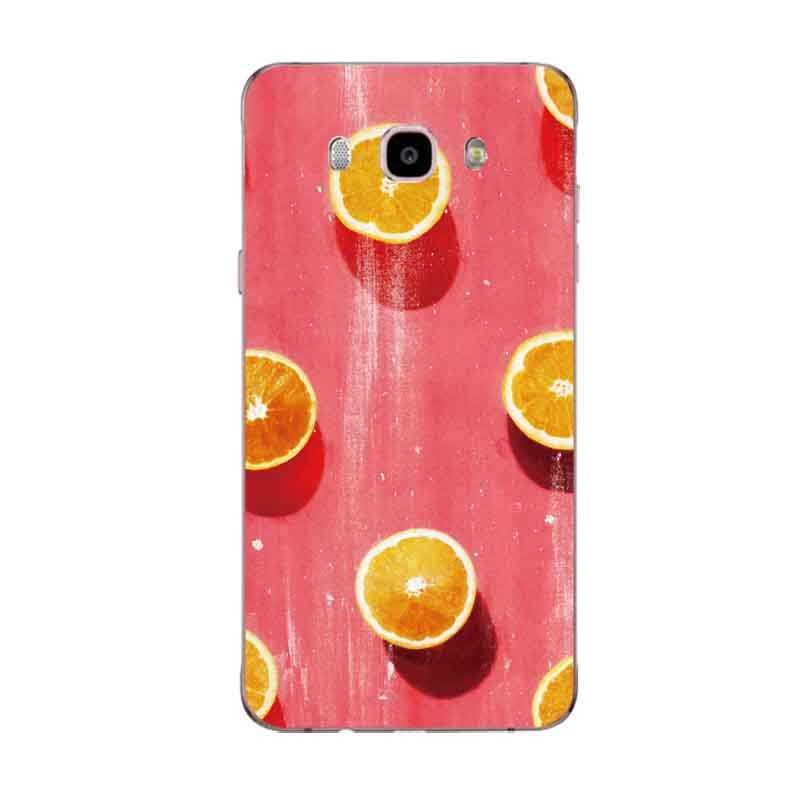 Olhos coloridos orange Frutas Superman Soft Case Telefone TPU Para Samsung A5 J3 J5 J7 J1 J2 S6 S7 S8 note8 S8plus c5 c7 c9 S9 C137