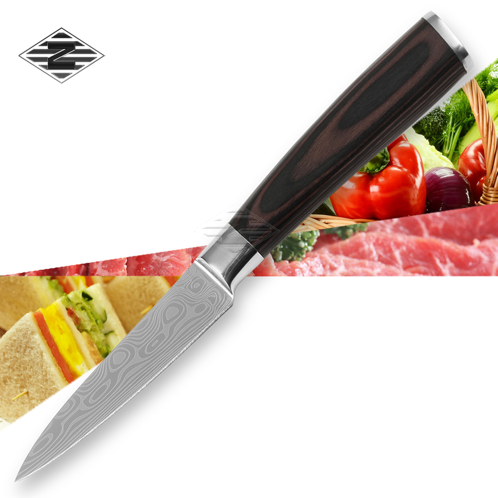 Kitchen Accessories Brands: XYJ Brand 3.5 Inch Paring Knife Kitchen Knives Stainless
