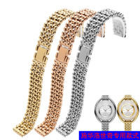 Stainless Steel Watchbands Bracelet For SWAROVSKI 12mm Watches Strap Replacement Women Wristband Bracelet Tools 5158548 515854