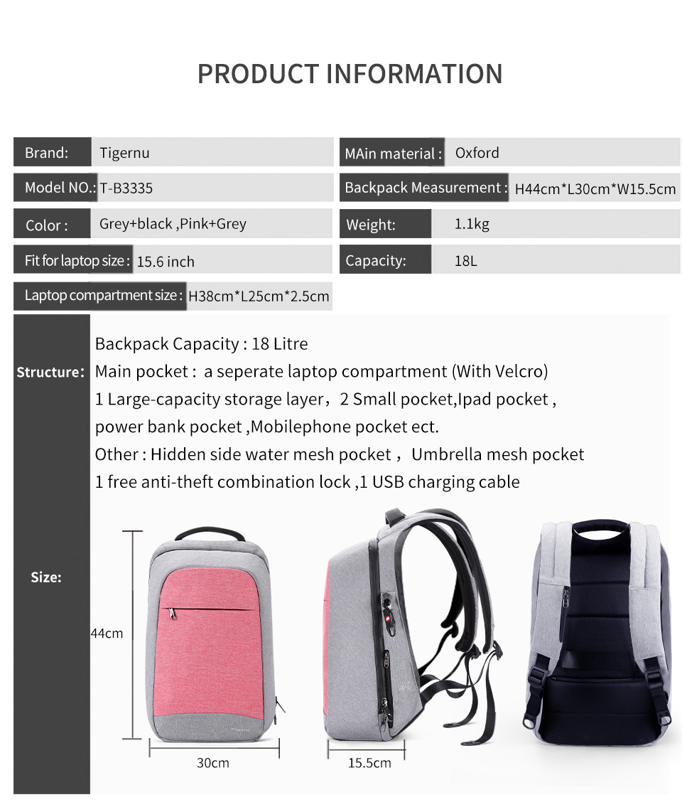HTB1jCwNJb1YBuNjSszhq6AUsFXa4 - Tigernu Anti theft Fashion Women Backpacks Female Daily College School Bag