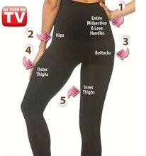 Modelujący legginsy damskie z wysokim stanem bezszwowe legginsy shaper plus rozmiar 3XL