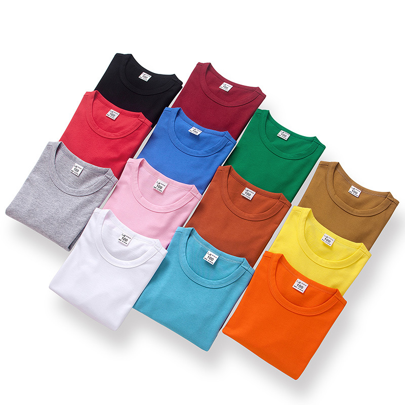 VIDMID T-Shirts Girls Tops Long-Sleeve Tees Boys Kids Cotton for Pure Colorful 7060/05