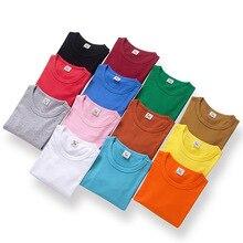 VIDMID/футболки с длинными рукавами для мальчиков и девочек; топы для детей; хлопковые футболки; однотонная одежда; топы для мальчиков; футболки 7060 05