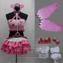 SUPER SONICO GRG Racing Queen Genus Gloomy Bear Cosplay Costume