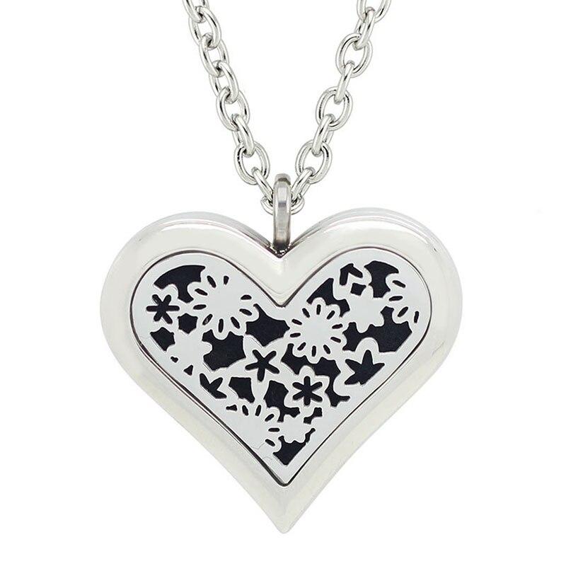 Besplatno s lancem kao poklon! Vruća ogrlica od 35 mm velikog srca - Modni nakit - Foto 2
