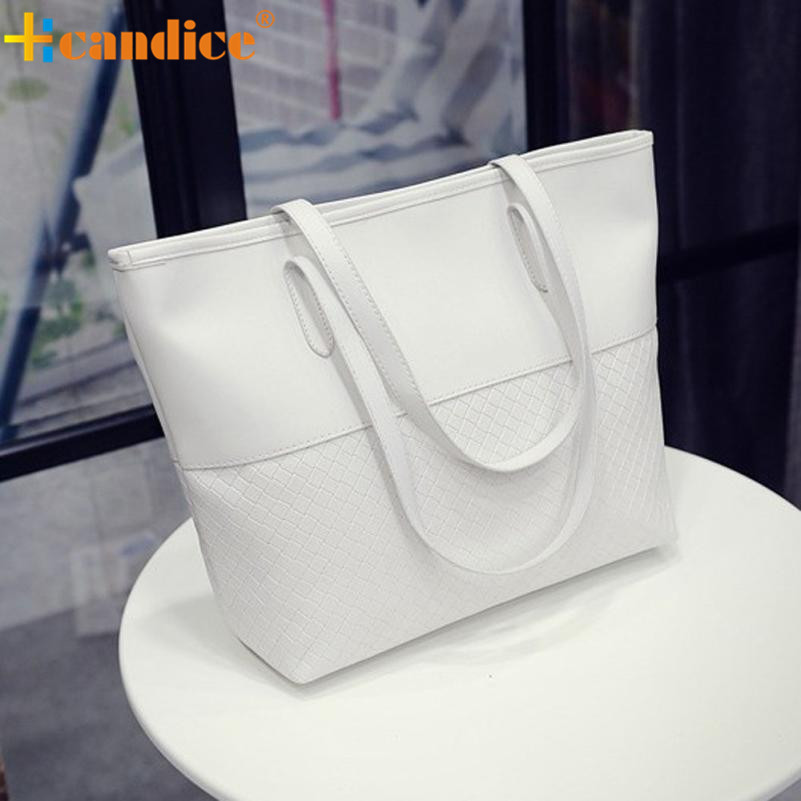 Naivety 2016 New Women Shoulder Tote Satchel Large Bag Lady Fashion Patchwork Purse Handbag JUL13 drop shipping naivety new fashion women tassel clutch purse bag pu leather handbag evening party satchel s61222 drop shipping