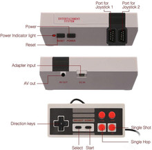 Drop shipping Mini TV Game Console 8 Bit Retro Video Game Console Built-In 620 Games Handheld Gaming Player Best Gift