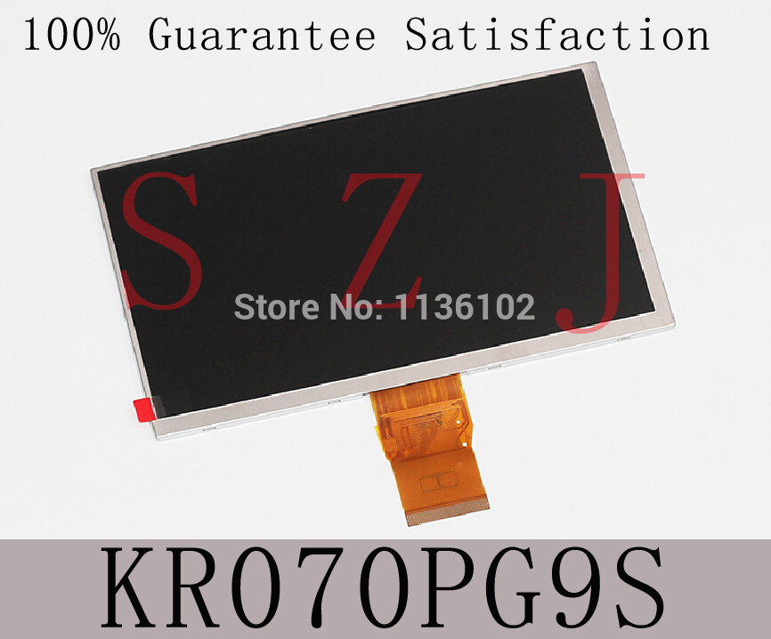 Original 7 Inch Hd LCD Screen For Onda V715 P071K Tablets Display Screen Within Kr070pg9s 163mm * 97mm Free Shipping