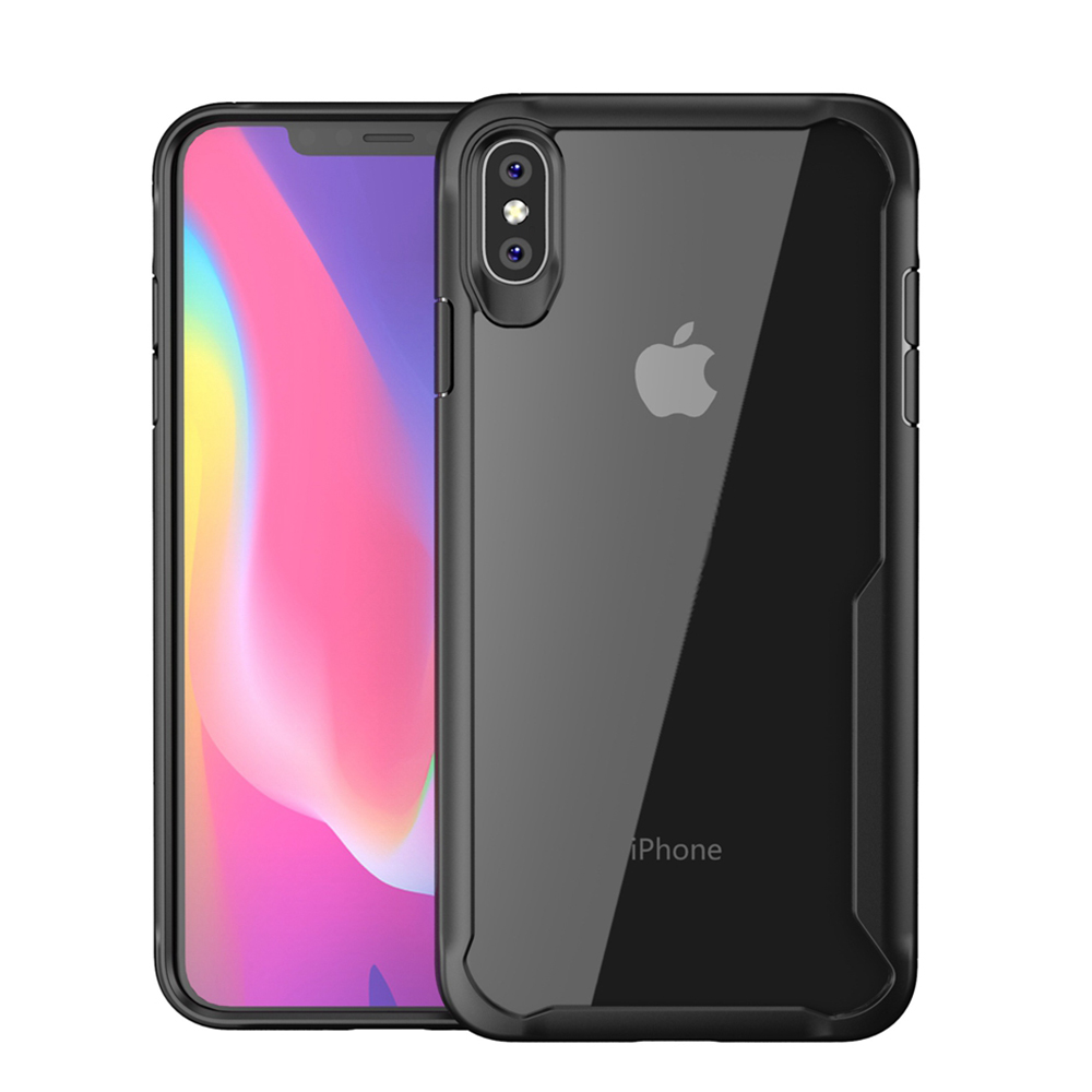 Image 5 - Heyytle Shockproof Armor Case For iPhone 7 8 Plus 6 6s Transparent Cover For iPhone X XS MAX XR Soft TPU Cases Drop proof Coque-in Fitted Cases from Cellphones & Telecommunications