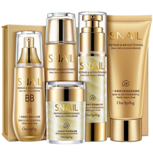 Brand SNAIL Face Care Skin makeup set,Fashion cosmetics kit,Moist Concealer BB Cream,Aqua Repair Cream,Liquid Fundation Cream