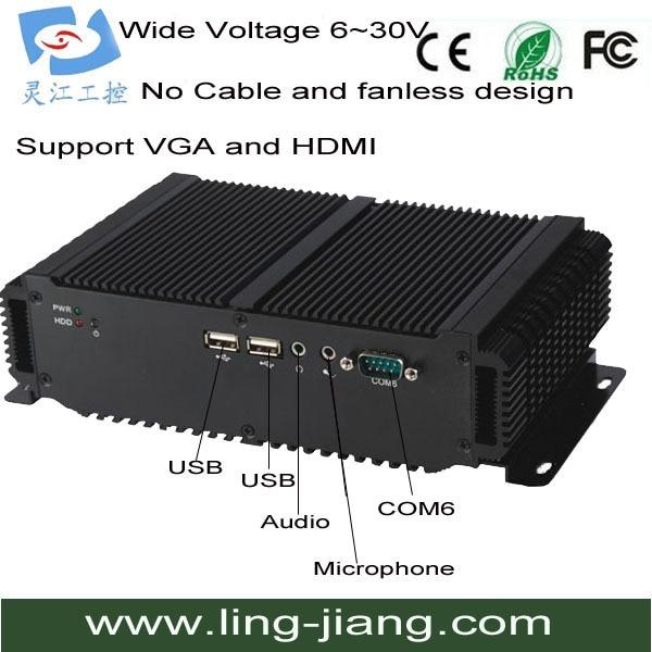 intel I5 CPU compact pc onboard 2Gb ram & ddr3 ram (Lbox-2550)