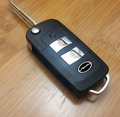 Keyless Entry Modified Replacement Shell Folding Remote Key Housing Case Fob 2 Button for KIA Forte Sportage 2005-2010