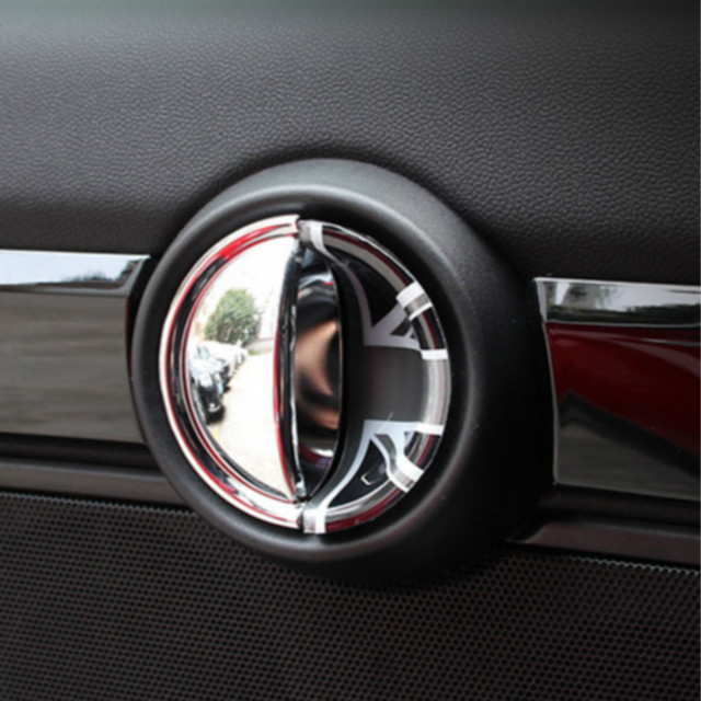 For Bmw Mini Cooper F60 F55 F56 Interior Door Pulls Wrist Decoration Shell Car Stickers Styling