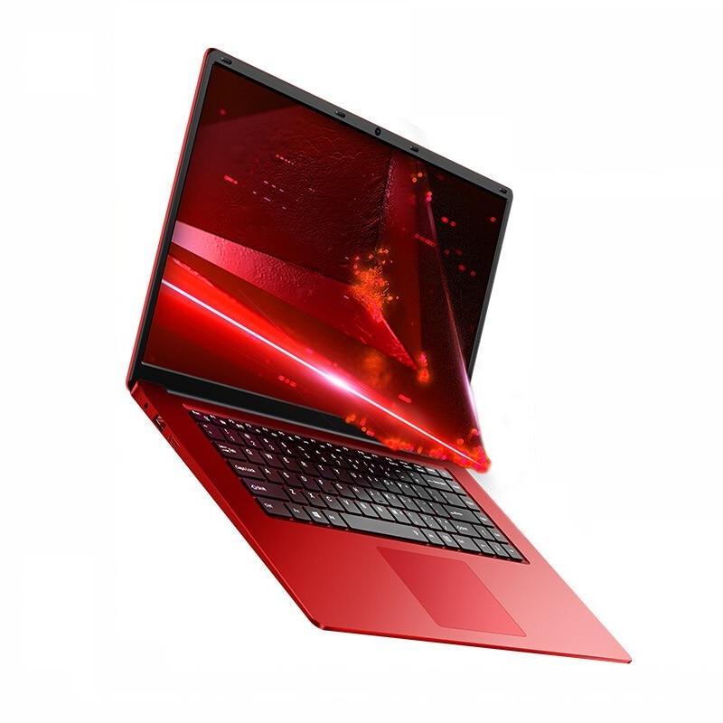 15.6 pouces ultra-mince ordinateur portable 8GB RAM 128/360/720GB SSD Intel Quad Core CPU 1920X1080P Full HD ordinateur portable à fonctionnement rapide ordinateur portable