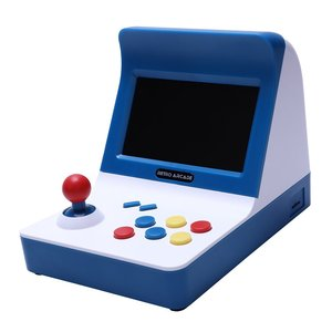 Image 2 - Powkiddy A8 Ретро аркадная консоль игровая машина встроенный 3000 классические игры геймпад управление AV Out 4,3 дюймов Scree