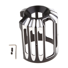 1 Set Motorcycle Oil Filter Cover For Any Of  Models Black Aluminum Accessories