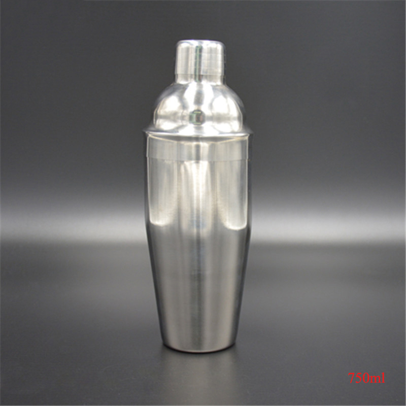 Fantastic Kitchen Stainless Steel Cocktail Shaker Dimple Effect Shaker, Silver 350ml 550ml 750ml