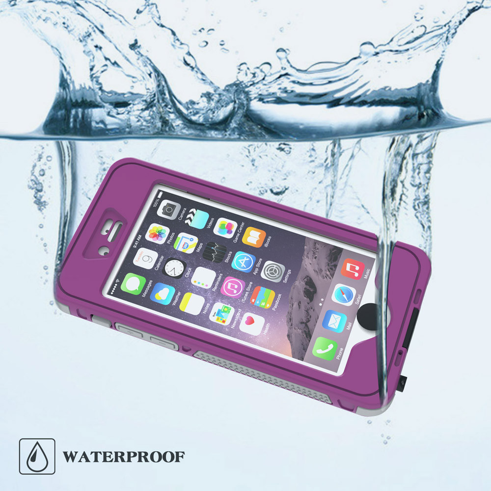 2015 New hot 5 colors IP68 Waterproof Shockproof Dirt Proof ABC+PC Cover Case Holder for iPhone 6S 4.7inch good sale Joo