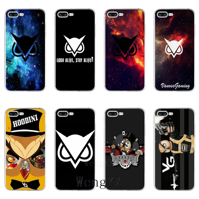 Hoodini Vanoss gaming Slim silicone TPU Soft phone case For Huawei Honor 4C  5A 5X 5C 6 Play 6X 6A 6C pro 7X 8 9 Lite V8 V10