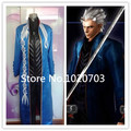 Devil May Cry Vergil Cosplay Costume Clothes with foot Cover Gloves