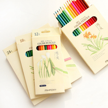 Nature story color pencils for drawing 36 different colores pencil set Crayon Stationery Office school supplies lapices 6988