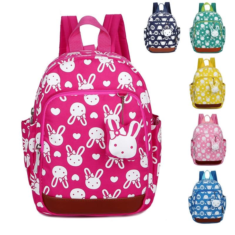 School Bags New Fasion Cute Anti Lost Children Backpack Baby Travel Food Bag 1-3 Year Old Child Shoulder Schoolbag Kindergarten