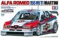Tamiya 24176 1/24 Scale Model Sport Car Kit Martini Alfa Romeo 155 V6 Ti ITC'96