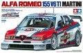 Tamiya 24176 1/24 escala modelo de carro Alfa Romeo 155 V6 de Martini Ti ITC'96