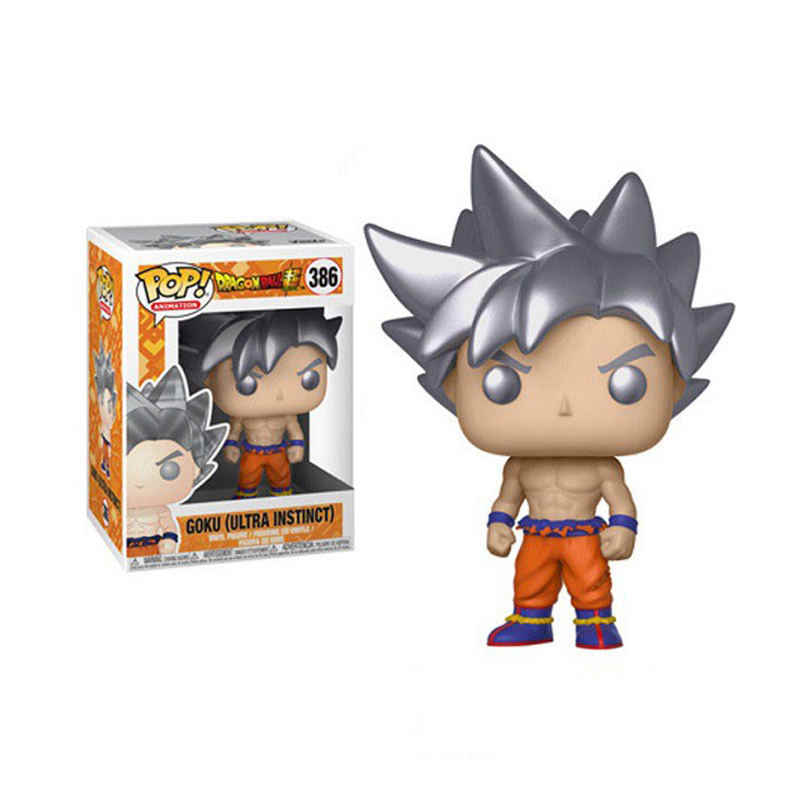 Funko pop Amine Dragon Ball GOKU (ULTRA INSTINCT) Vinyl Action Figure Collectible Model Toys for children birthday gift