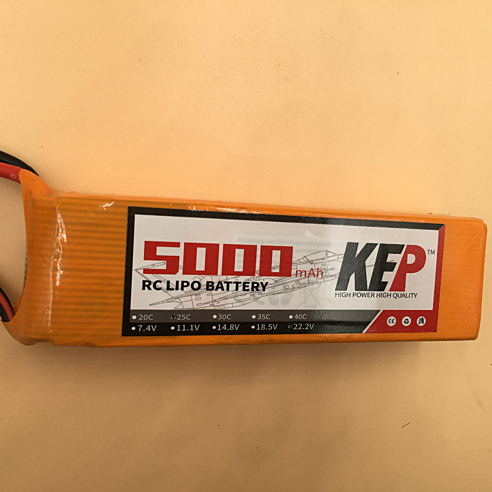 KEP RC 3S Li-Poly Battery 11.1V 5000mAh 40C 80C 3S RC LiPo Battery For RC Helicopters Quadcopter boats cars