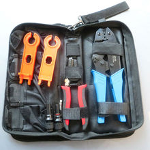 MC4 Tool Set Solar Mount Photovoltaic Tool Clamp Cable Trimmer Crimping Pliers Kit