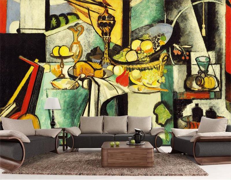 Custom 3d Photo Wallpaper 3d Wall Murals Wallpaper Hd: 3D Wallpaper/custom Photo HD Mural/Picasso/still Life