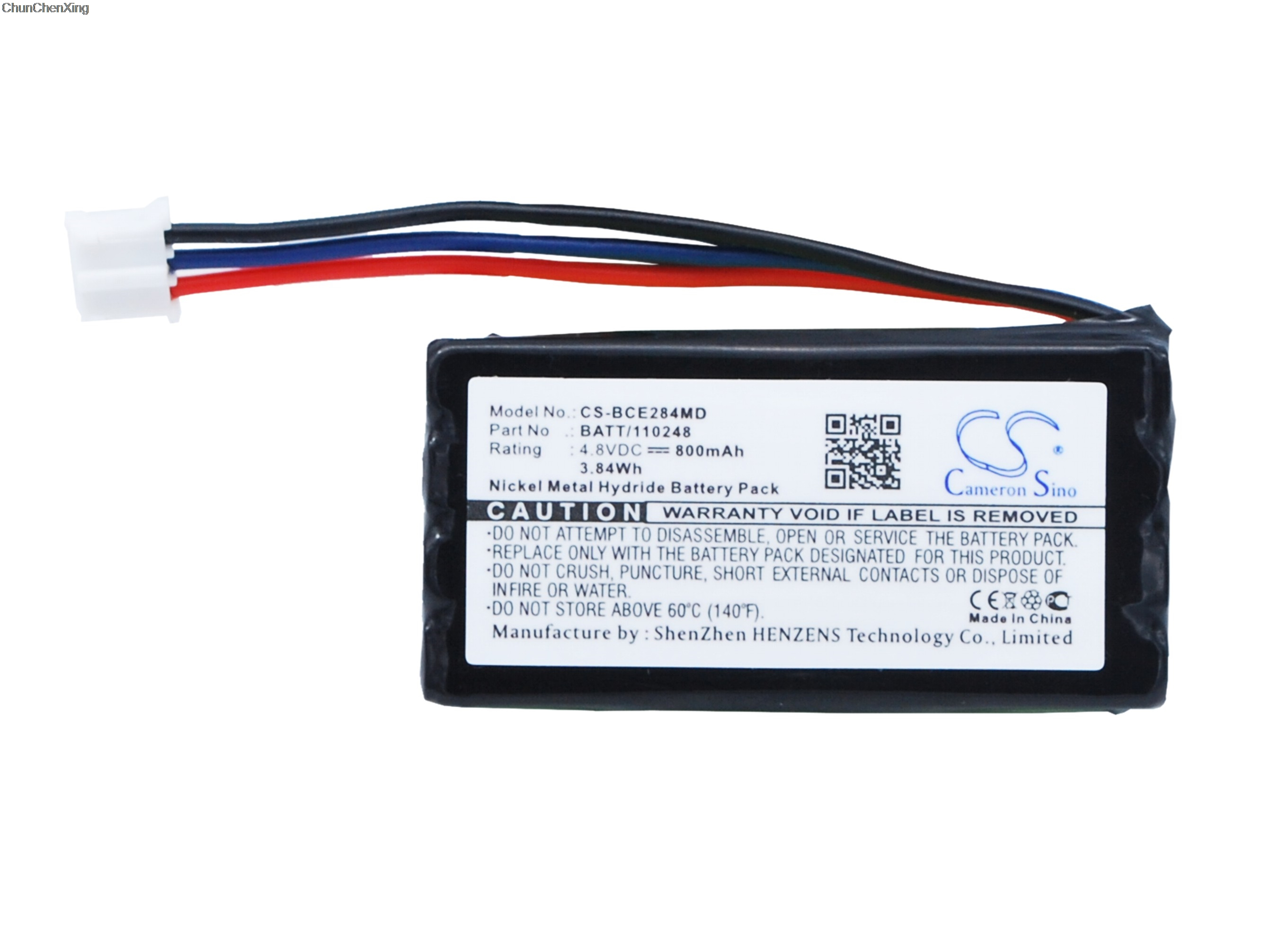 Cameron Sino 800mAh Battery 120284, BATT/110248 for Biocam Dermogenius Basic
