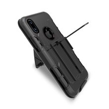 LANCASE Shockproof Stand Armor Case for iPhone X