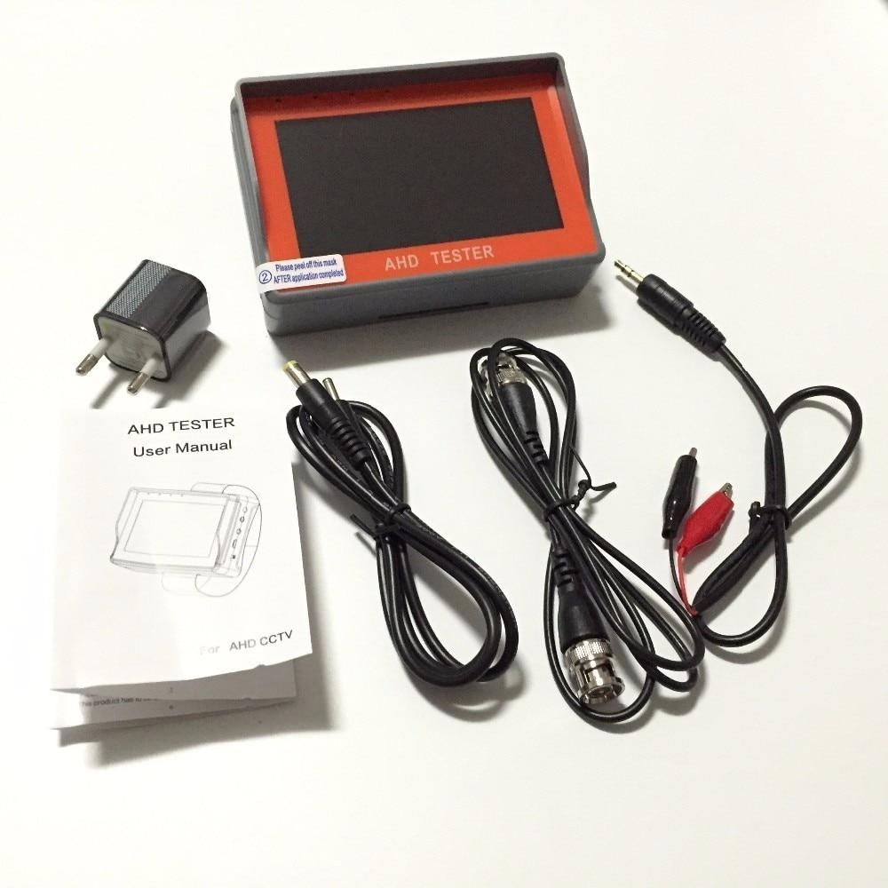 New Portable 4.3 LTPS LCD 1080P CCTV Camera Display AHD Monitor Tester 12V-Output For 720P / 960P / 2.0MP 1080P CVBS Camera
