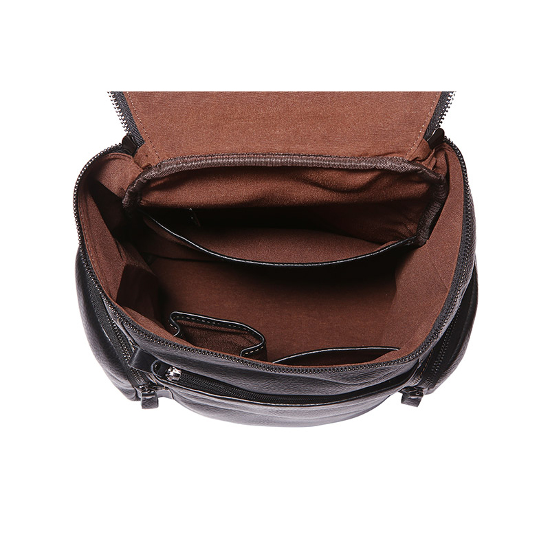 J M D Fashion Brand Genuine Leather High Quality School bag for College Student Backpack Book Rucksack Causal Travel Bag 7336A in Backpacks from Luggage Bags