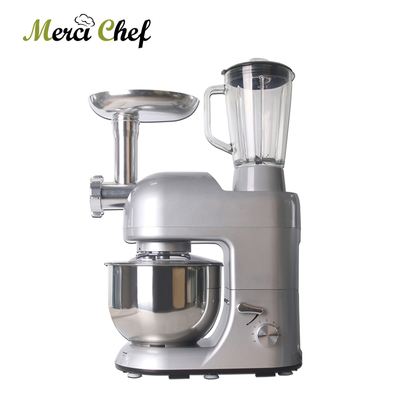 ITOP 12 Functions Food Processor Mixer Blender Sausage Stuffer Fruit Juicer Meat Dough Egg Mixers Meat Grinder Chef Machine
