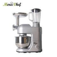 ITOP 12 Functions Food Processor Mixer Blender Sausage Stuffer Fruit Juicer Meat Dough Egg Mixers Meat Grinder Chef Machine