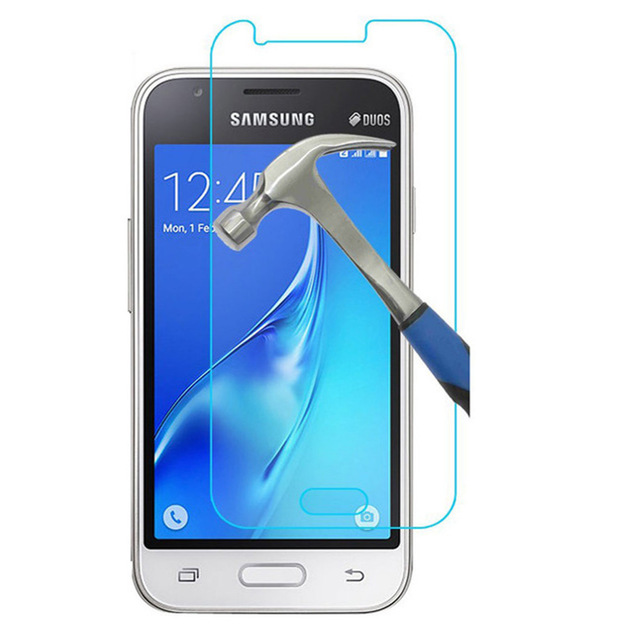 9H Ultra Thin Tempered Glass Screen Protector For <font><b>Samsung</b></font> <font><b>Galaxy</b></font> <font><b>J1</b></font> <font><b>Mini</b></font> J105 J1Mini <font><b>2016</b></font> <font><b>SM</b></font>-<font><b>J105H</b></font> <font><b>J1</b></font> Nxt Duos Protective Film image