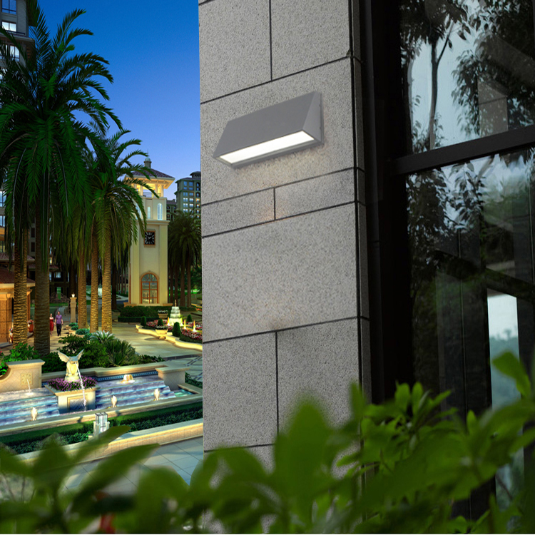 Modern LED outdoor wall lamp Porch light COB 10w Waterproof IP55 for garden decoration down wall