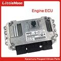 LittleMoon Neue original motor computer motor control module für Peugeot 301 206 207 307 308 408 C2 C3 C4 zx elyess ECU-in Motor Computer aus Kraftfahrzeuge und Motorräder bei