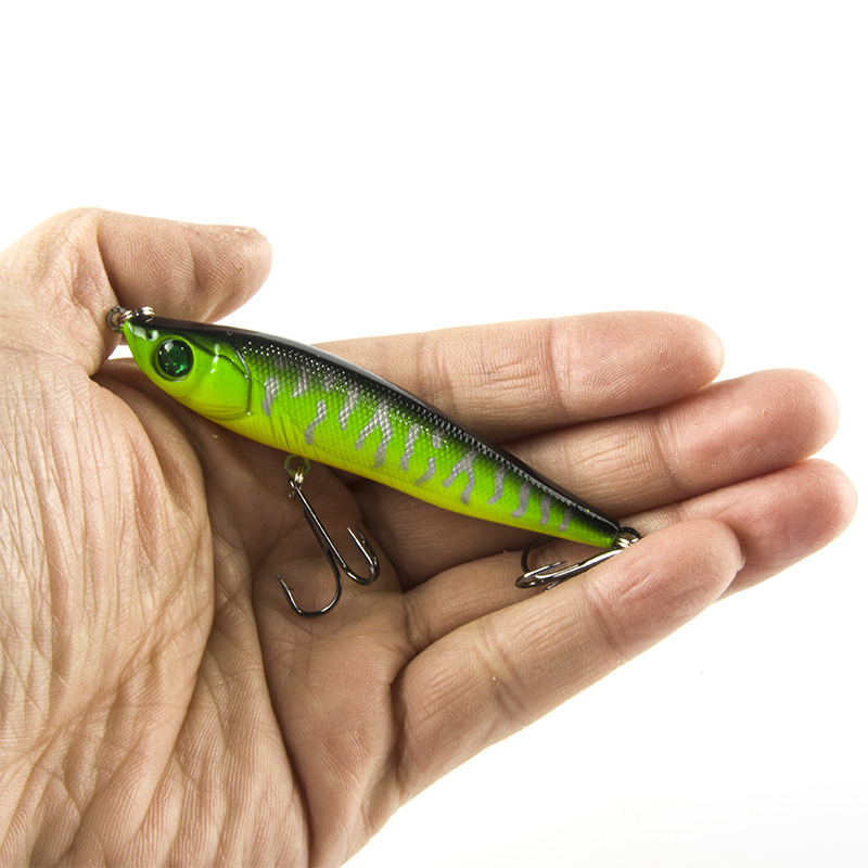 Uzun Atış Balıkçılık Cazibesi Kalem 8 cm / 15g Ile 6 # Karbon - Balık Tutma - Fotoğraf 3